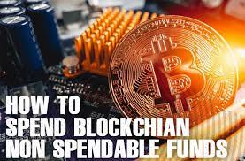 How to spend Non-spendable funds